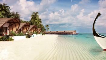 جزر المالديف الخيالية