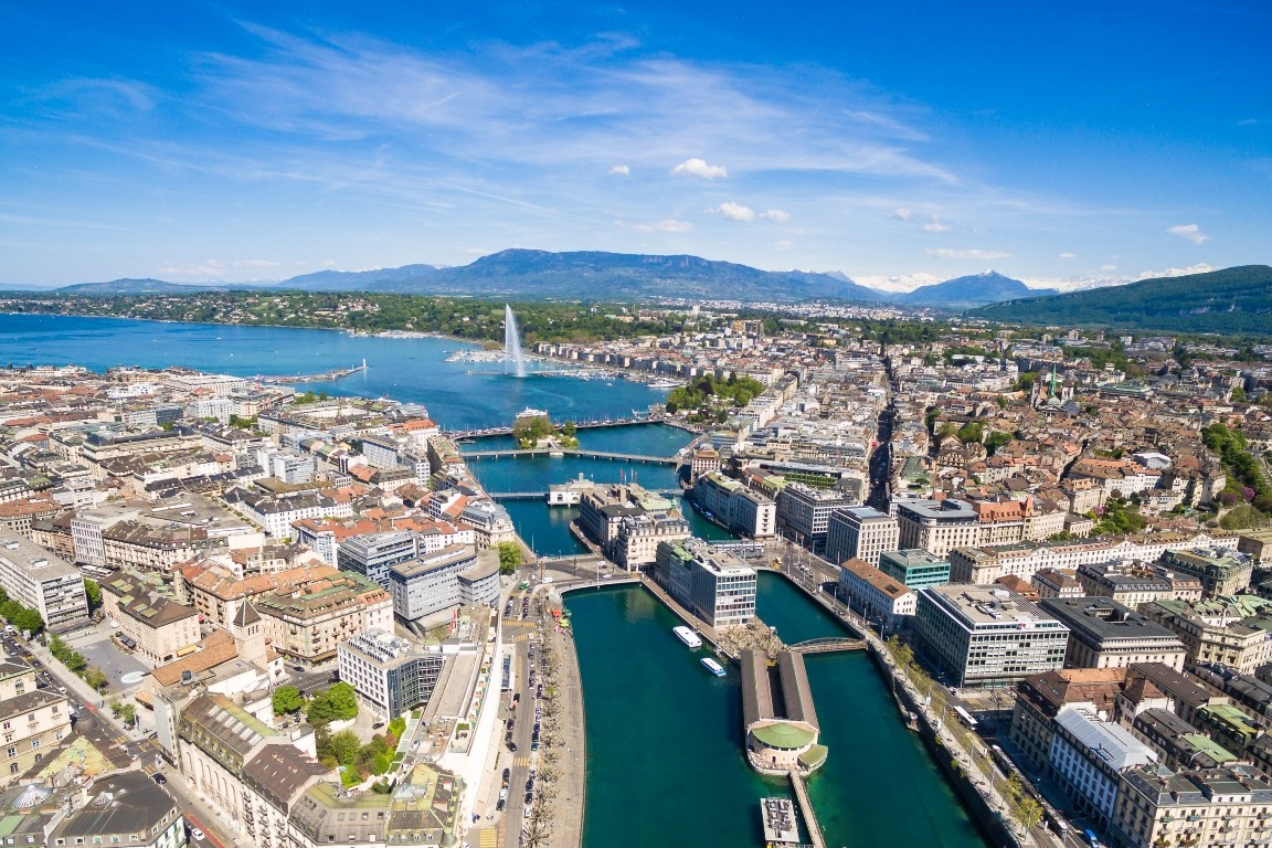 أجمل أماكن التسوق والمطاعم في جنيف