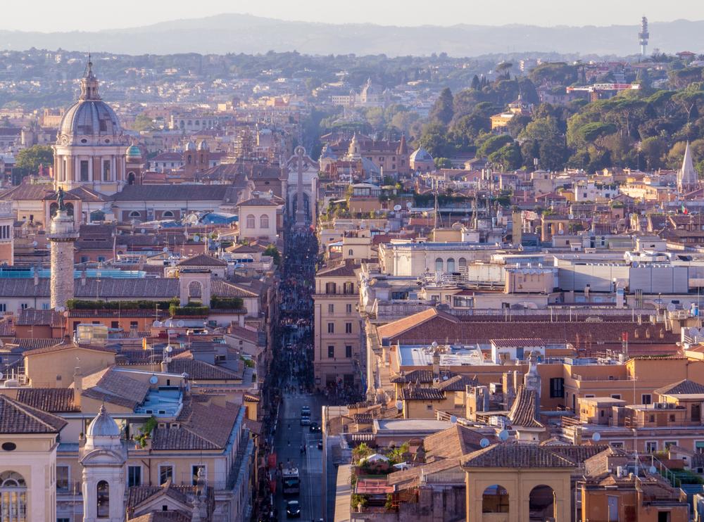 اجمل اماكن التسوق والمطاعم في روما