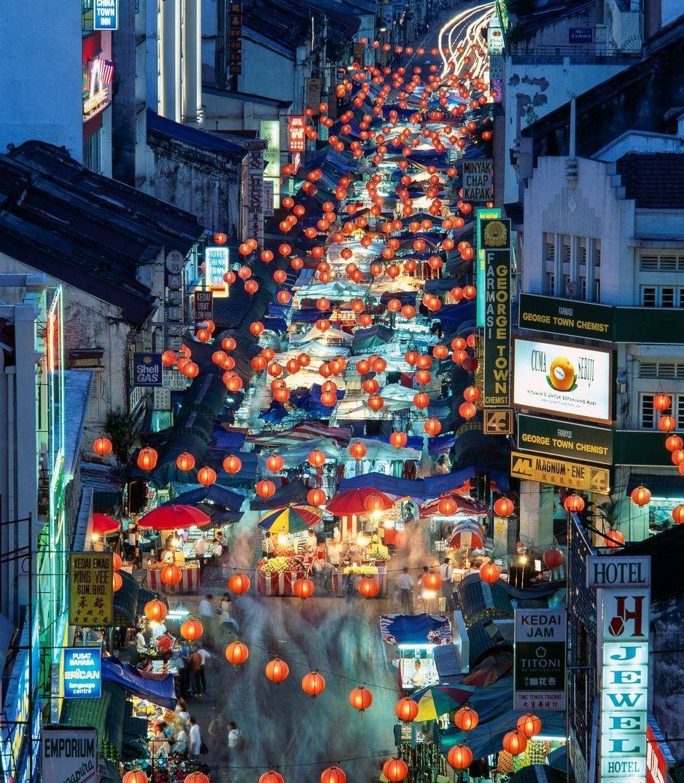 ماليزيا اماكن التسوق كوالالمبور السوق الصيني