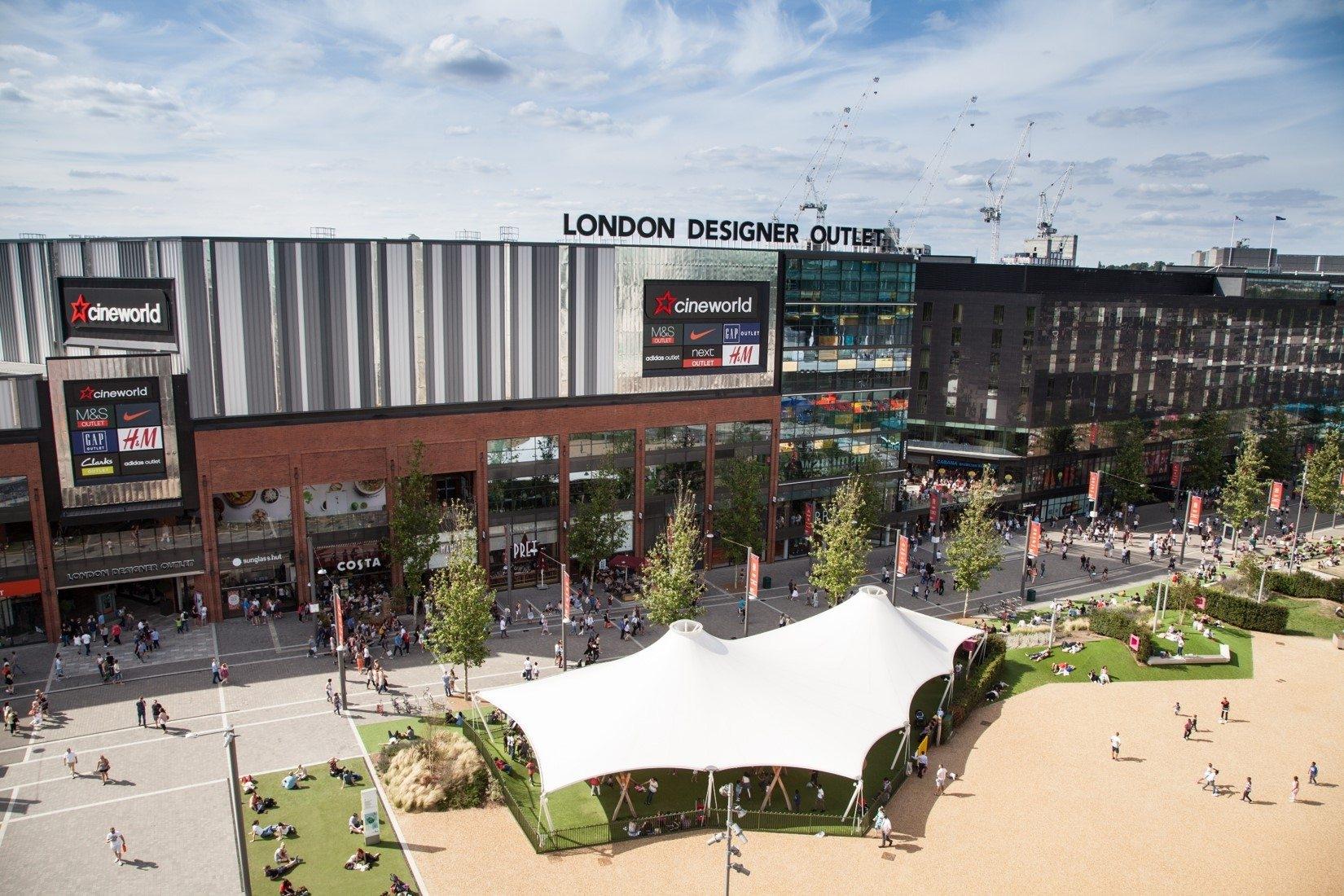 بريطانيا لندن افضل اماكن التسوق والمطاعم لندن ديزاينير اوتليت