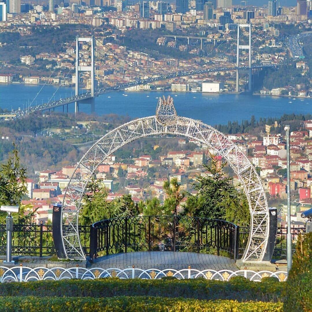 تركيا اسطنبول اهم الاماكن السياحيه تل العرائس