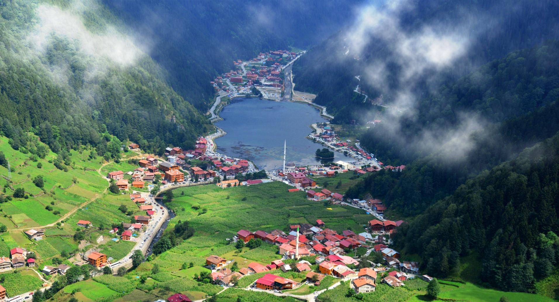 تركيا طرابزون اهم الاماكن السياحيه اوزنجول
