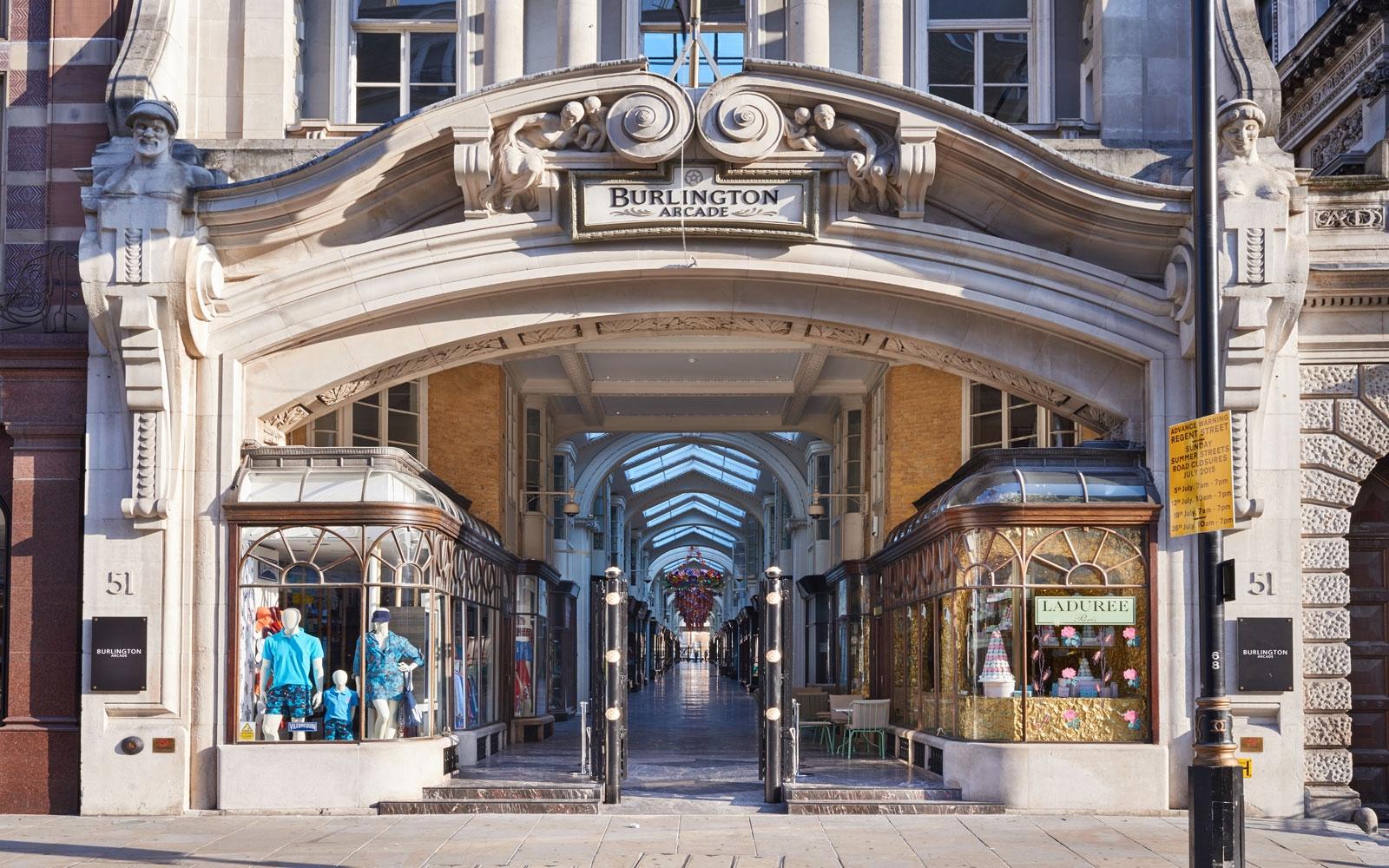 بريطانيا لندن افضل اماكن التسوق والمطاعم مركز بيرلينجتون