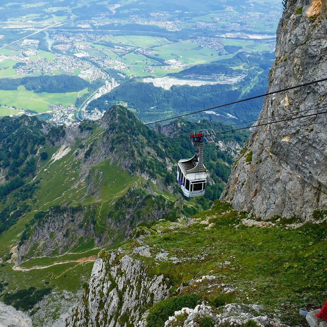 النمسا سالزبورغ اهم الاماكن السياحية تلفريك جبل انترسبيرغ