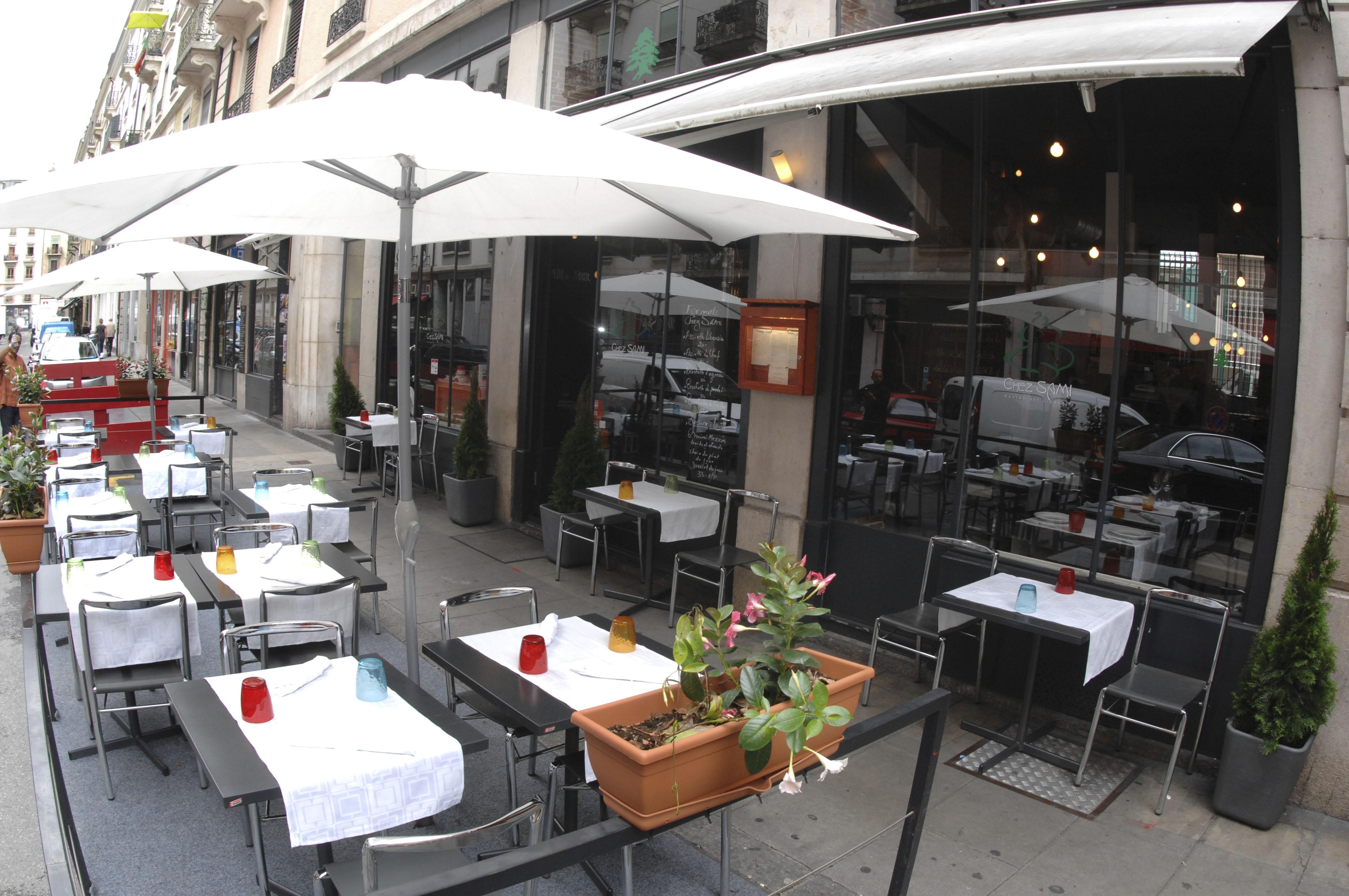 سويسرا جينيف اجمل اماكن التسوق والمطاعم مطعم تشيز سامي
