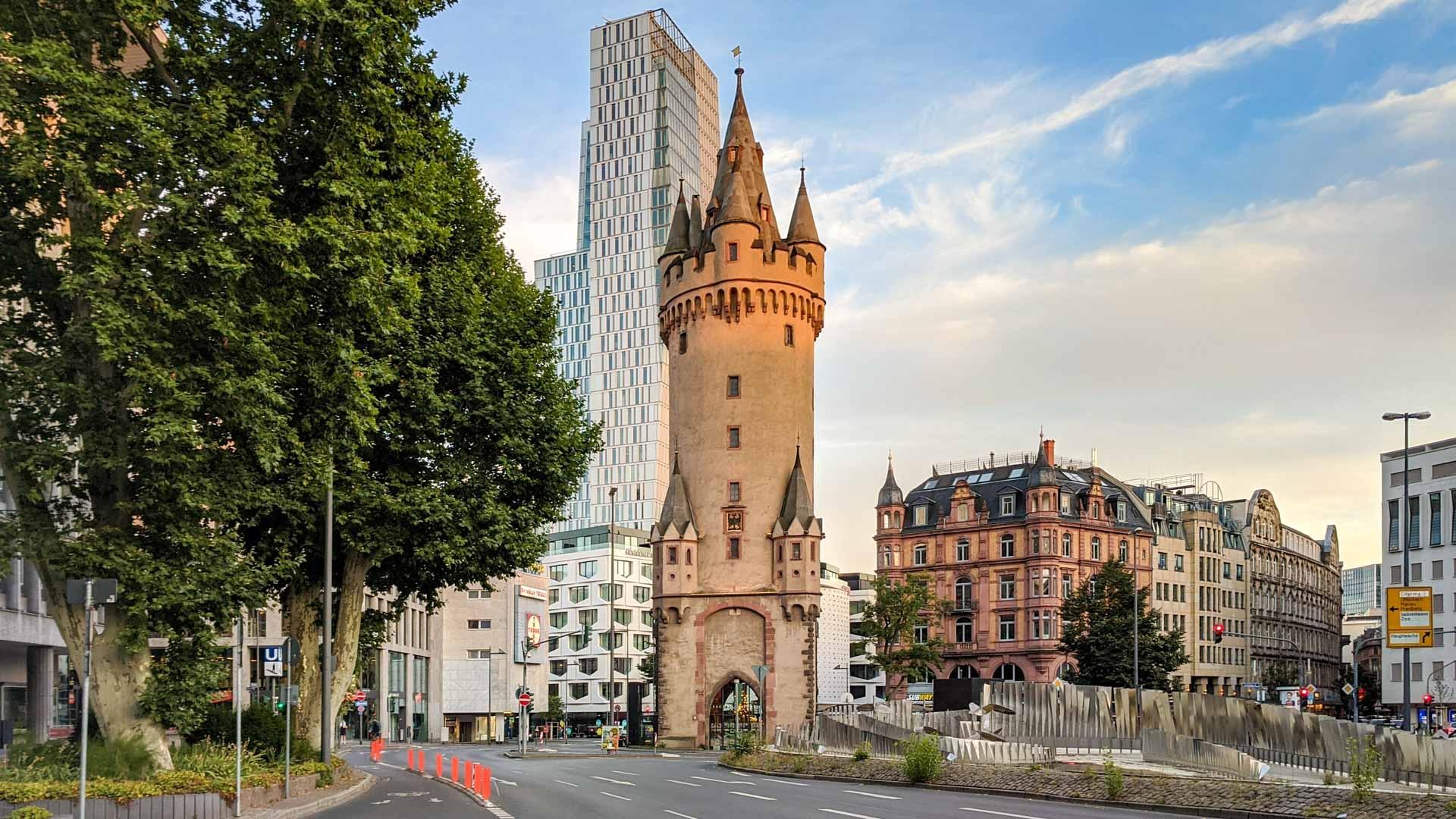المانيا فرانكفورت اهم الاماكن السياحية برج ايشنهايم