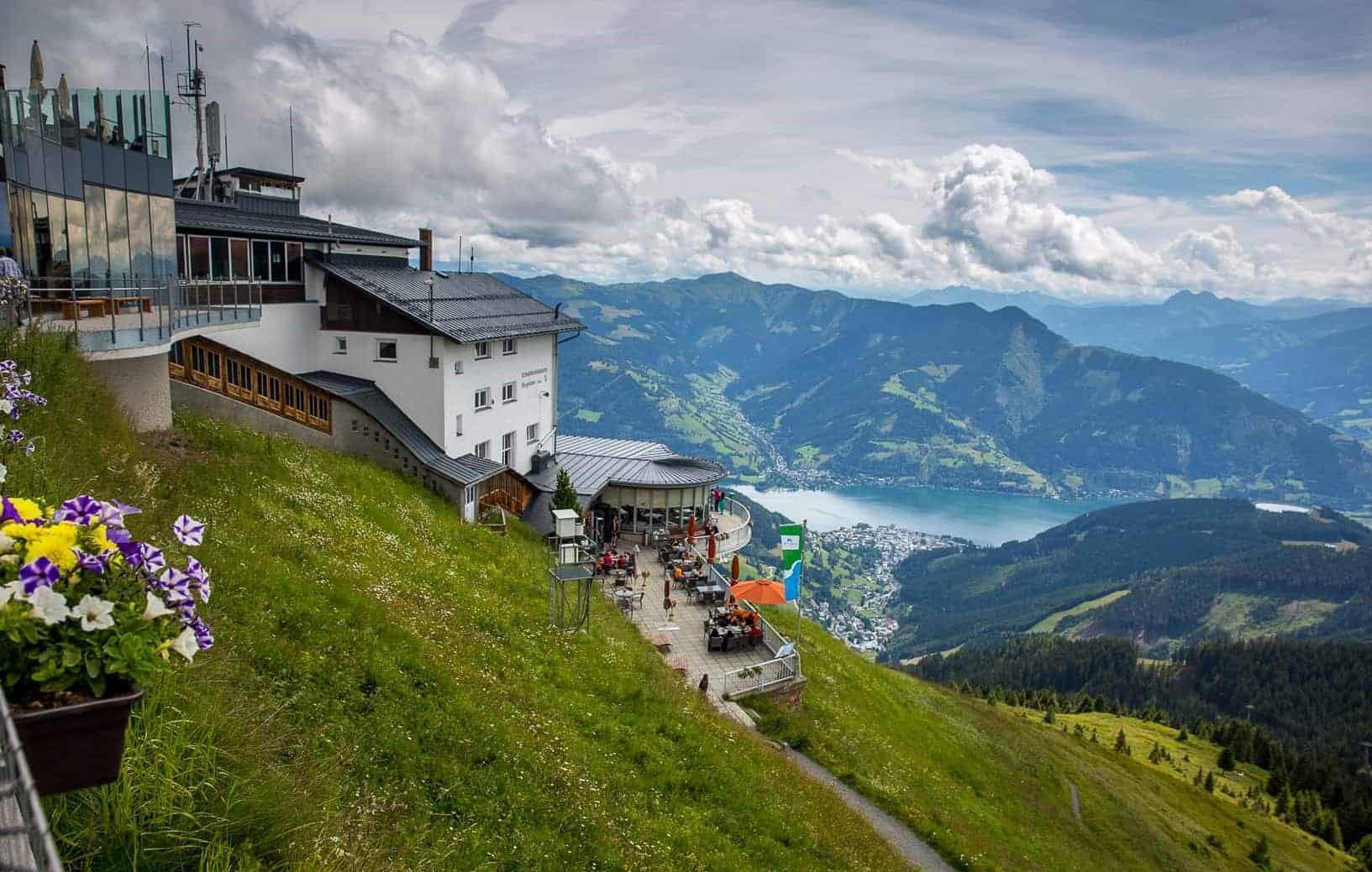النمسا زيلامسي اهم الاماكن السياحية قمة جبل شميتن هوه