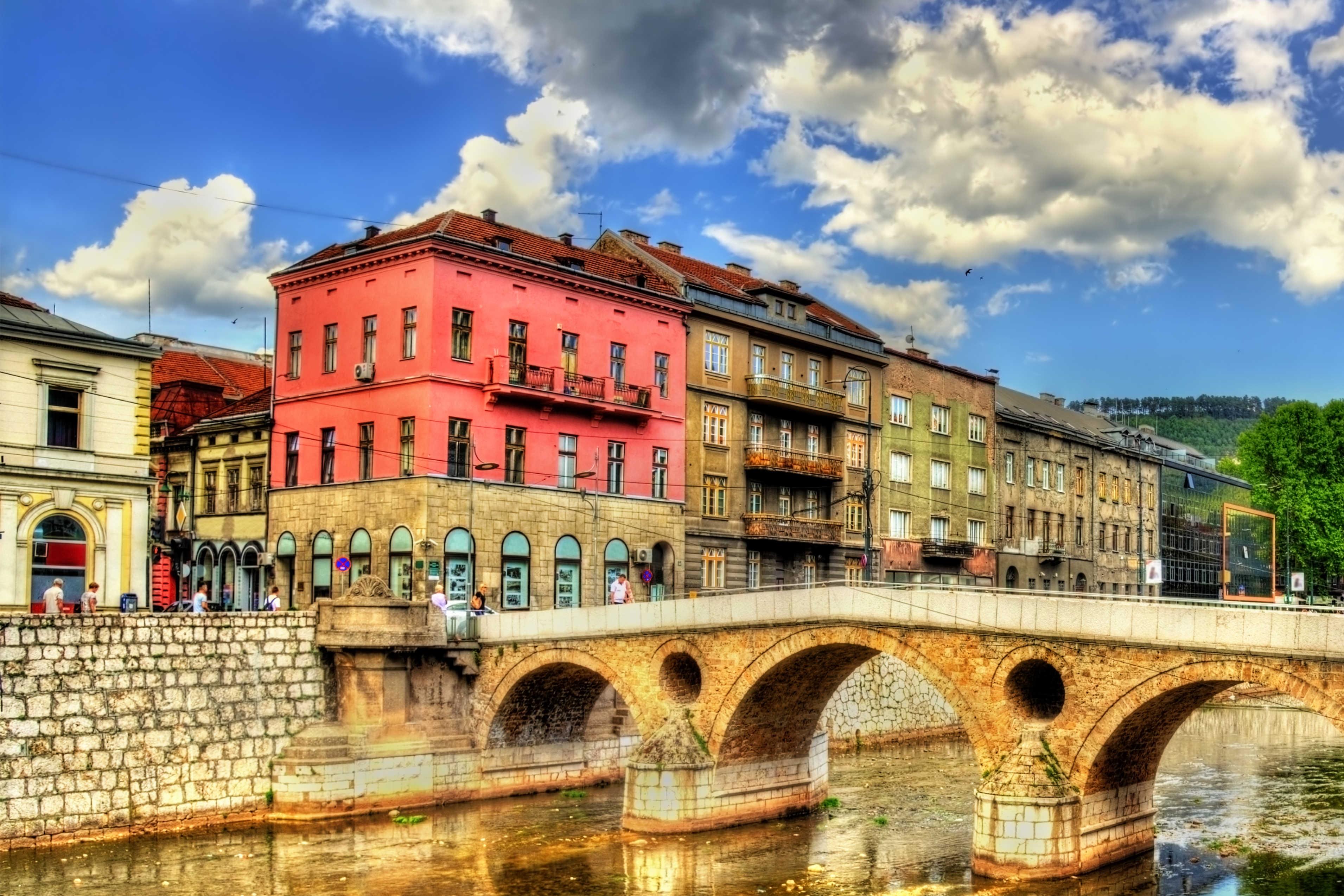 البوسنة والهرسك سراييفو اهم الاماكن السياحية الجسر اللاتيني