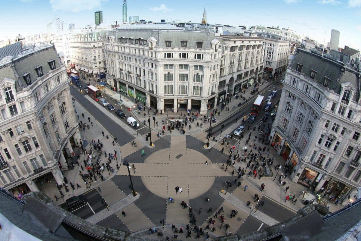 بريطانيا لندن افضل اماكن التسوق والمطاعم شارع اوكسفورد