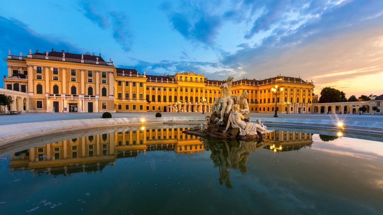 النمسا فيينا اهم الاماكن السياحية قصر شونبرون