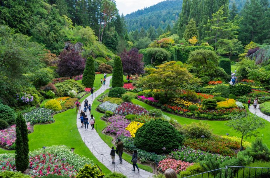 سويسرا زيورخ اهم الاماكن السياحية الحديقة الخضراء