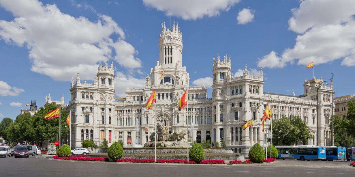 إسبانيا مدريد اهم الاماكن السياحية بلازا دي سيبيليس