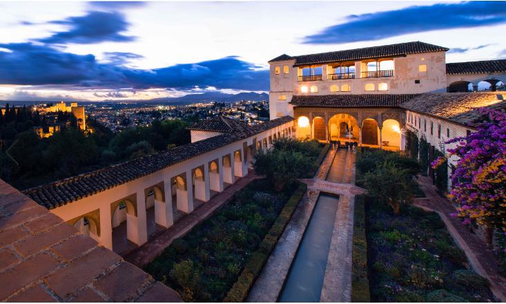 إسبانيا غرناطة اهم الاماكن السياحية جنة العريف