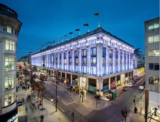 بريطانيا لندن افضل اماكن التسوق والمطاعم مول سيلفريدج