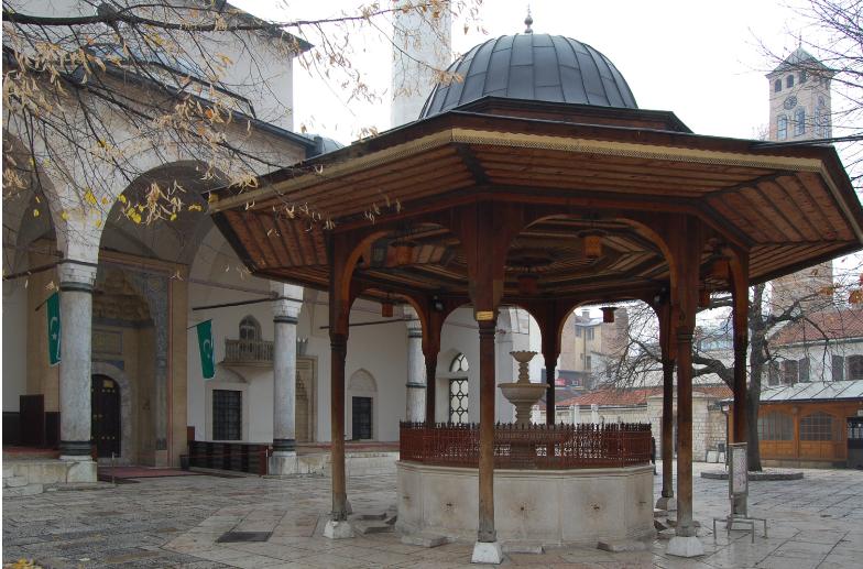 البوسنة والهرسك سراييفو اهم الاماكن السياحية مسجد غازي خسرو بيك