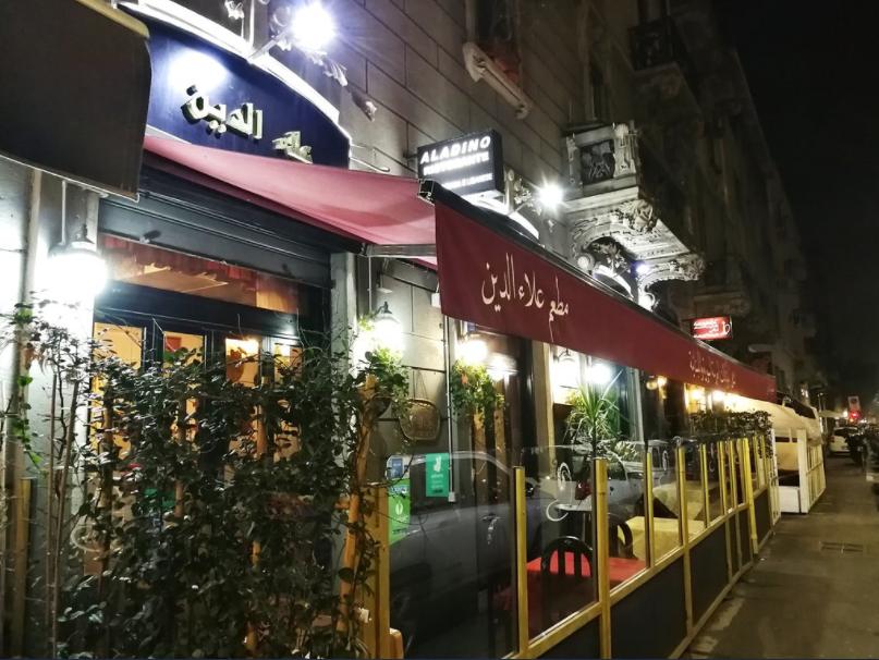 ايطاليا ميلانو اهم اماكن التسوق والمطاعم مطعم علاء الدين