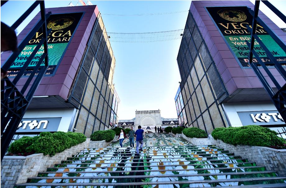 تركيا اسطنبول اهم اماكن التسوق والمطاعم مول فيا بورت