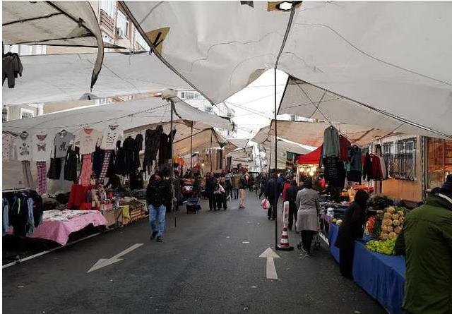 تركيا اسطنبول اهم اماكن التسوق والمطاعم سوق الجمعه