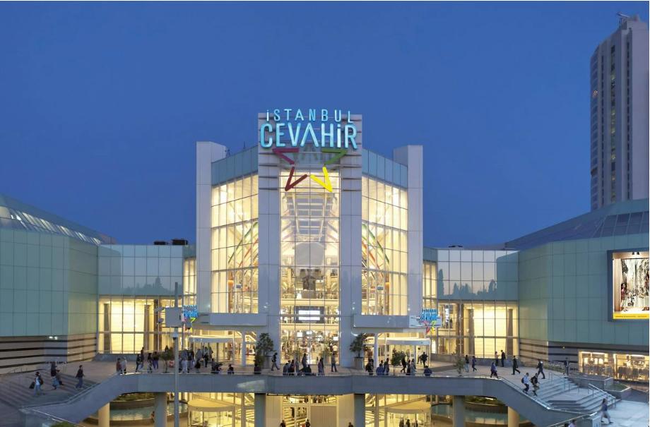 تركيا اسطنبول اهم اماكن التسوق والمطاعم مول جواهر اسطنبول