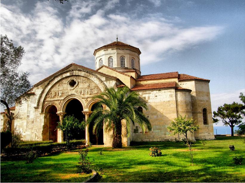 تركيا طرابزون اهم الاماكن السياحيه متحف ايا صوفيا