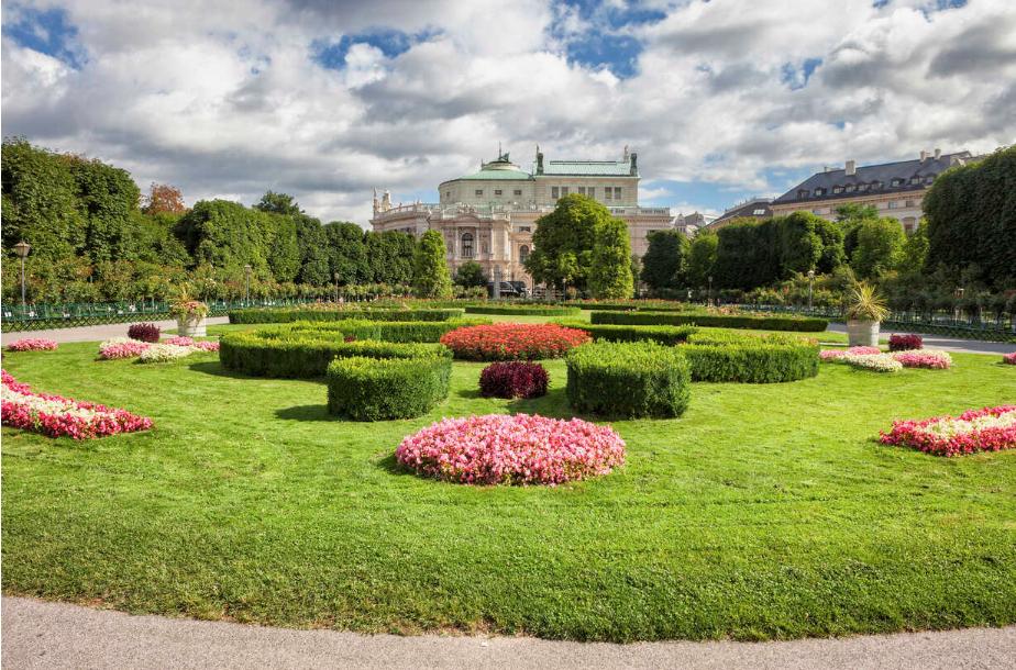 النمسا فيينا اهم الاماكن السياحية حديقة الزهور فيينا