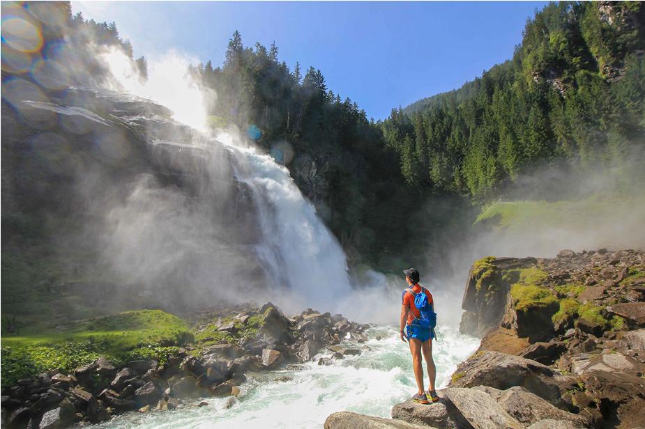 النمسا زيلامسي اهم الاماكن السياحية شلالات كريمل