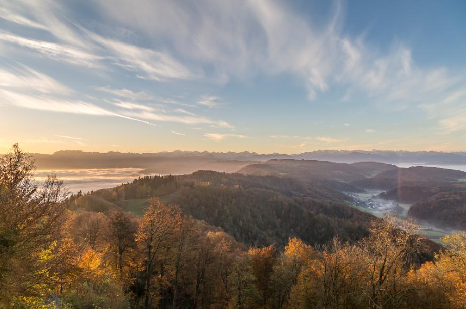 سويسرا زيورخ اهم الاماكن السياحية  جبل اوتليبيرج