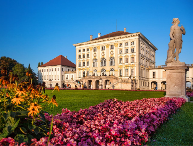 المانيا ميونخ اهم الاماكن السياحية قصر نيمفينبورج
