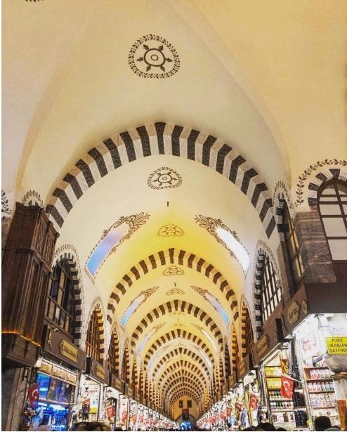 بورصه تركيا اهم اماكن التسوق والمطاعم السوق المسقوف