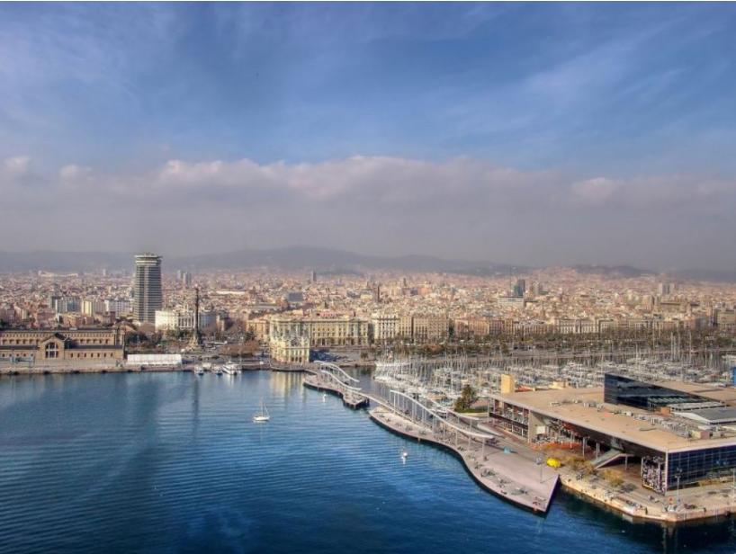 إسبانيا برشلونة افضل اماكن التسوق والمطاعم مجمع ماري ماغنوم