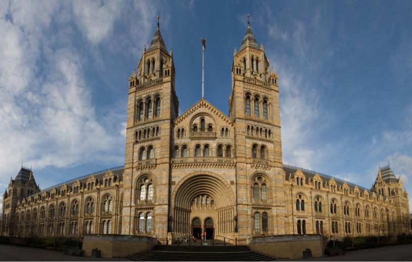بريطانيا لندن اهم الاماكن السياحية متحف التاريخ الطبيعي