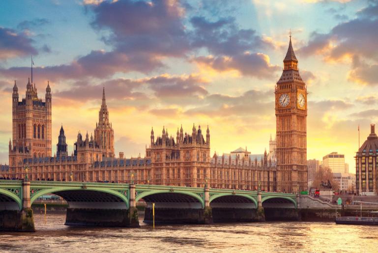بريطانيا لندن اهم الاماكن السياحية ساعة بيج بن