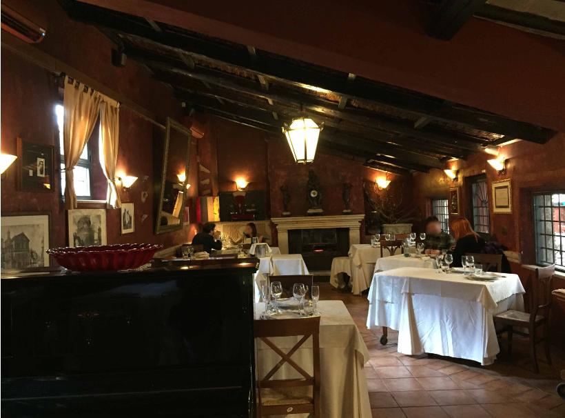 ايطاليا روما اهم اماكن التسوق والمطاعم مطعم راكيولوجيا