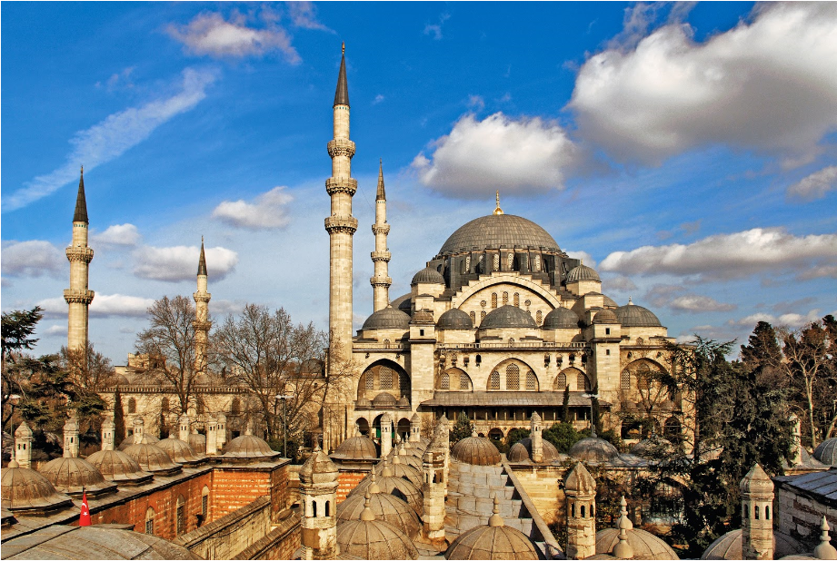 تركيا اسطنبول اهم الاماكن السياحيه مسجد سليمان القانوني