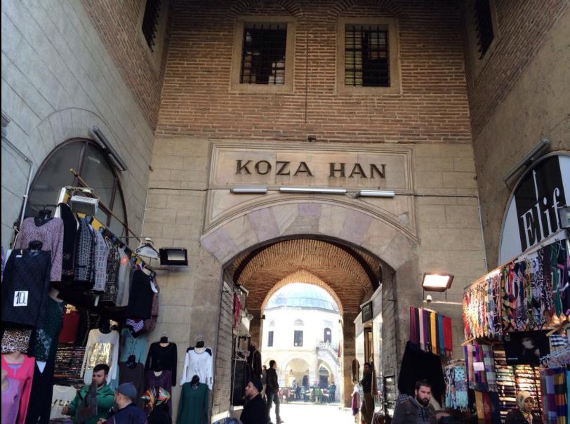 بورصه تركيا اهم اماكن التسوق والمطاعم سوق الحرير