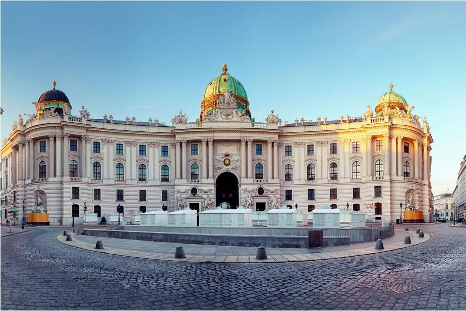 النمسا فيينا اهم الاماكن السياحية القصر الامبراطوري هوفبورغ