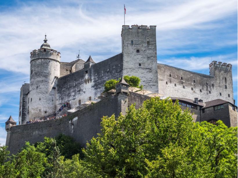 النمسا سالزبورغ اهم الاماكن السياحية قلعة هوهن سالزبورغ