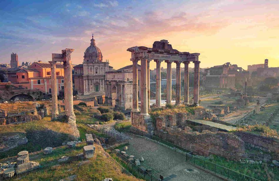 ايطاليا روما اهم الاماكن السياحيه المنتدي الروماني