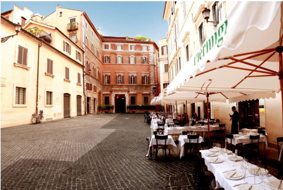 ايطاليا روما اهم اماكن التسوق والمطاعم مطعم بييرلويجي