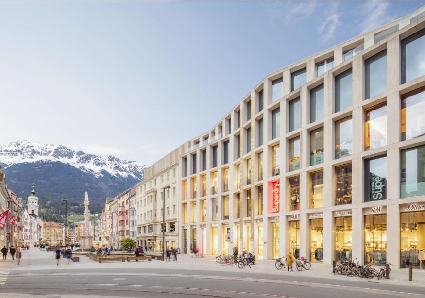 النمسا انسبروك افضل اماكن التسوق والمطاعم كاوفهاوس تيرول