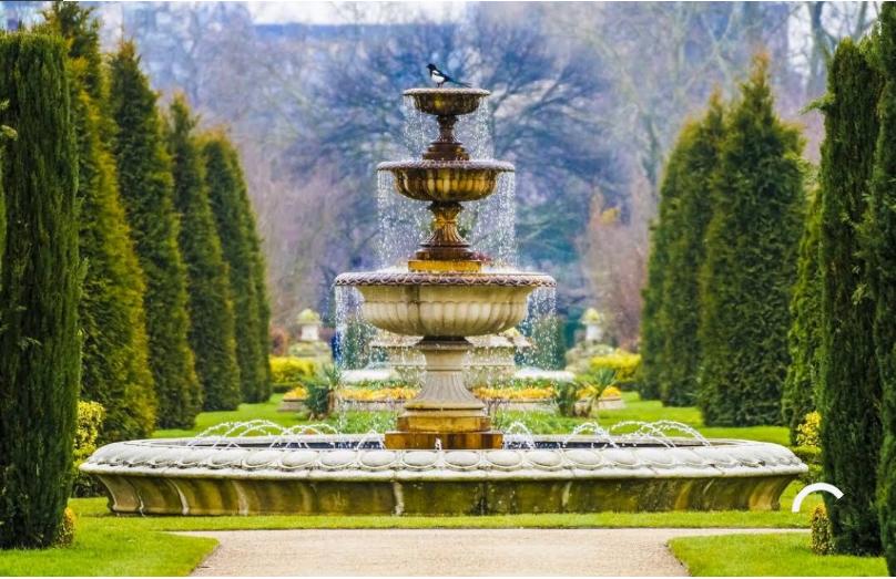 بريطانيا لندن اهم الاماكن السياحية حديقة هولاند بارك لندن