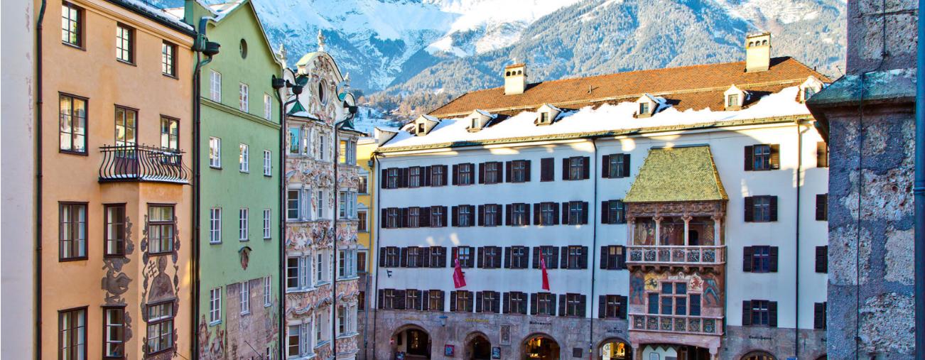 النمسا انسبروك اهم الاماكن السياحية مبنى السقف الذهبي انسبروك