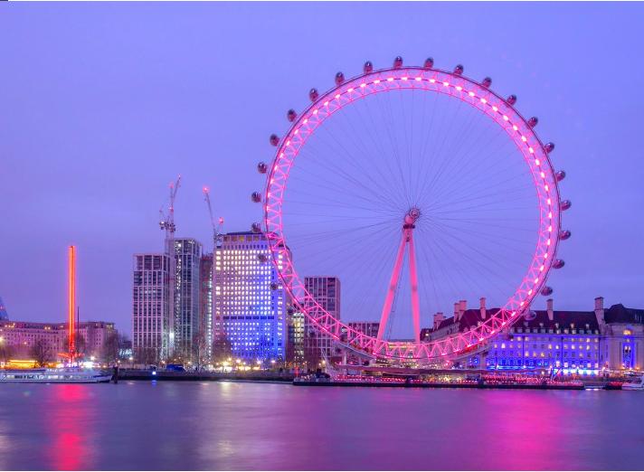 بريطانيا لندن اهم الاماكن السياحية عين لندن