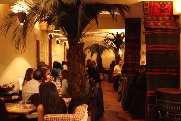 إسبانيا مدريد افضل اماكن التسوق والمطاعم  مطعم العربية