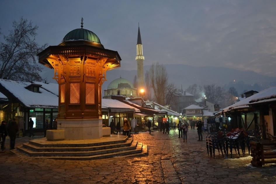البوسنة والهرسك سراييفو اهم الاماكن السياحية سبيل المال في سراييفو