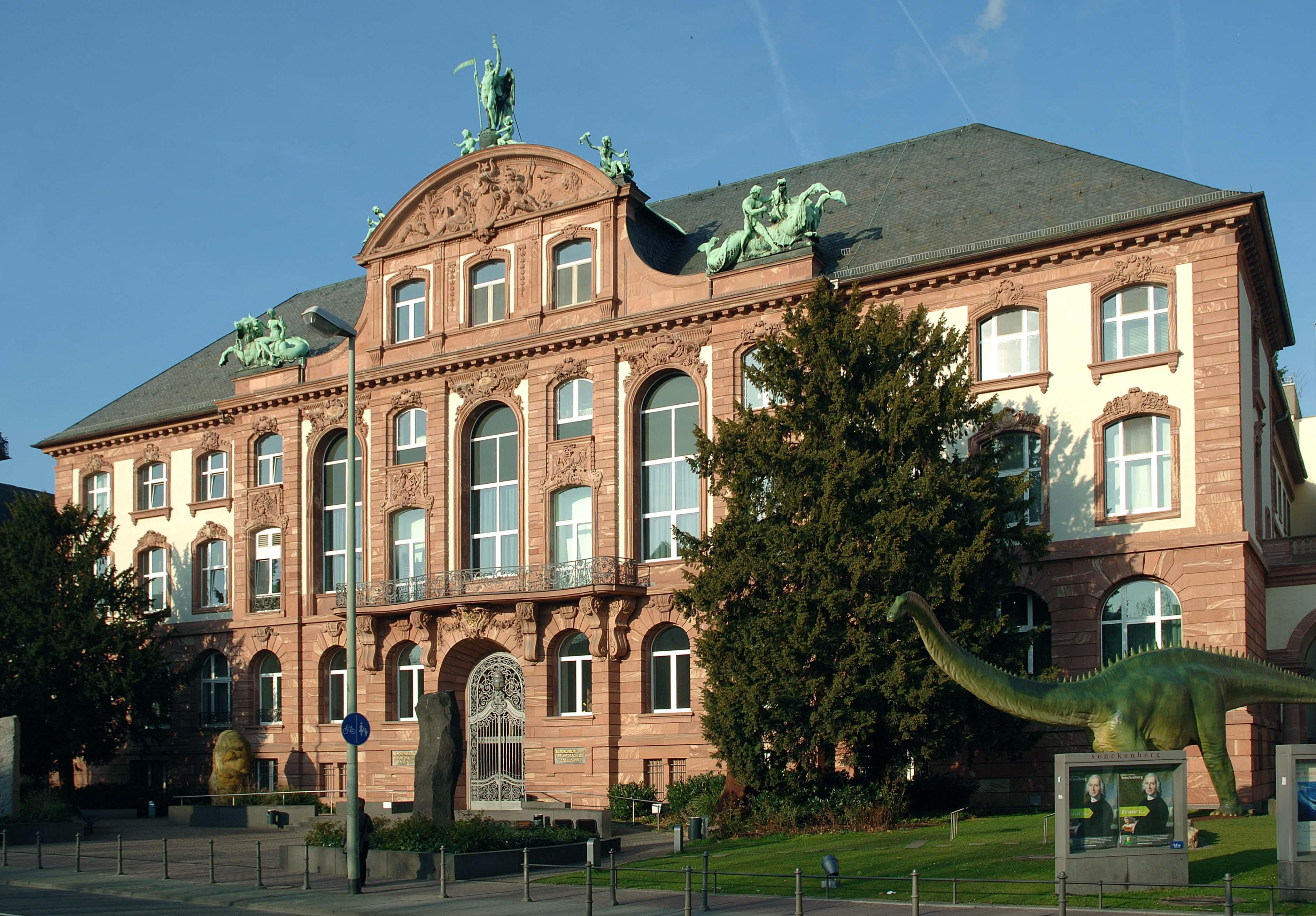 المانيا فرانكفورت اهم الاماكن السياحية متحف سينكنبرج للعلوم الطبيعية