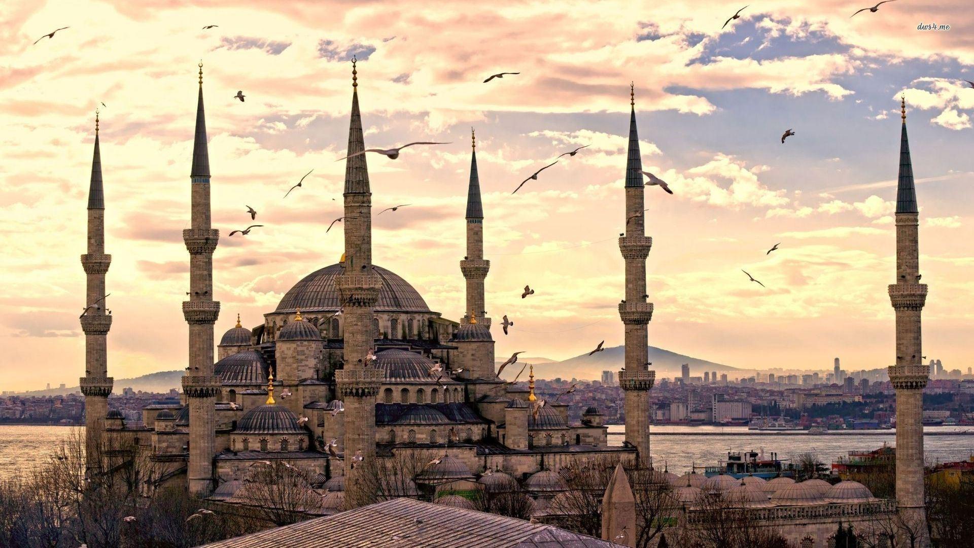 تركيا اسطنبول اهم الاماكن السياحية مسجد السلطان احمد