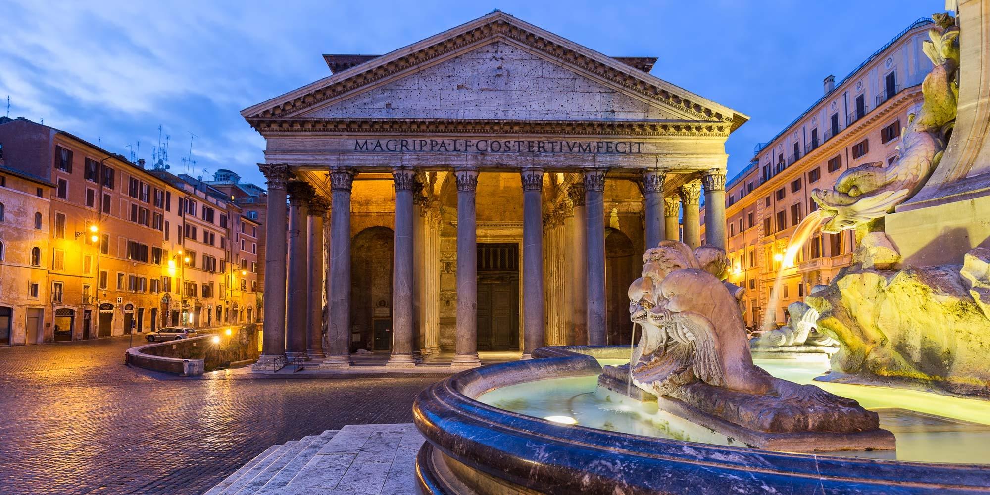 ايطاليا روما اهم الاماكن السياحيه البانثيون