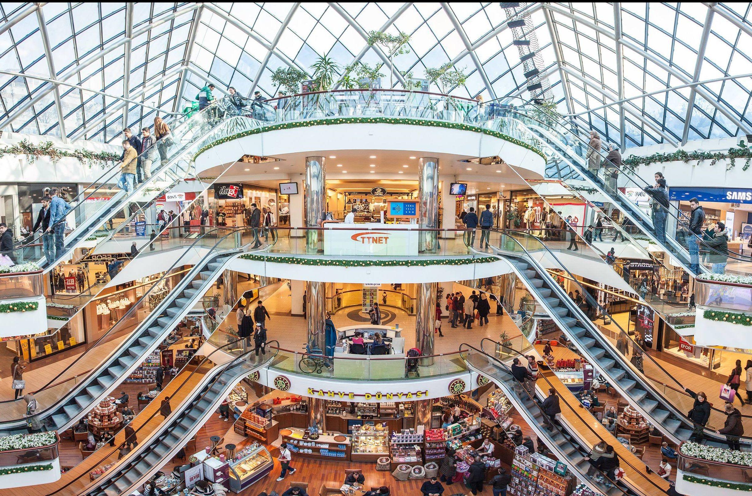 تركيا بورصه اهم اماكن التسوق والمطاعم ظافر بلازا